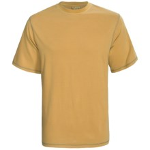 White Sierra Trinidad T-Shirt - Short Sleeve (For Men) in Amber Gold - Closeouts
