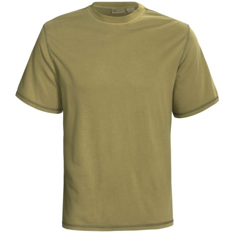 White Sierra Trinidad T-Shirt - Short Sleeve (For Men) in Pistachio