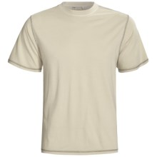 White Sierra Trinidad T-Shirt - Short Sleeve (For Men) in Stone - Closeouts