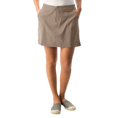 White Sierra West Loop Skort (For Women) in Bark