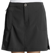 White Sierra West Loop Skort (For Women) in Black - Closeouts