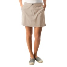 White Sierra West Loop Skort (For Women) in Stone - Closeouts