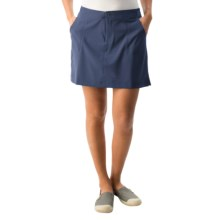 White Sierra West Loop Skort (For Women) in Vintage Indigo - Closeouts