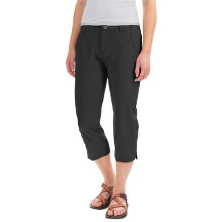 White Sierra West Loop Trail Capris (For Women) in Black - Closeouts