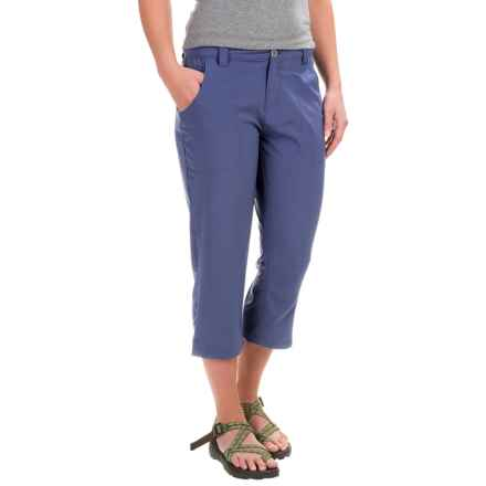 White Sierra West Loop Trail Capris (For Women) in Crown Blue - Closeouts