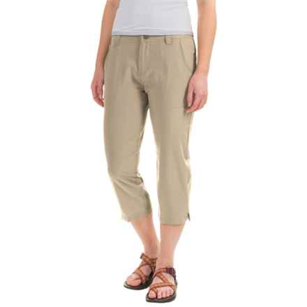 White Sierra West Loop Trail Capris (For Women) in Stone - Closeouts
