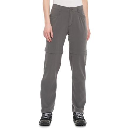 19e92512d7 White Sierra West Loop Trail Convertible Pants - UPF 30 (For Women) in  Castlerock
