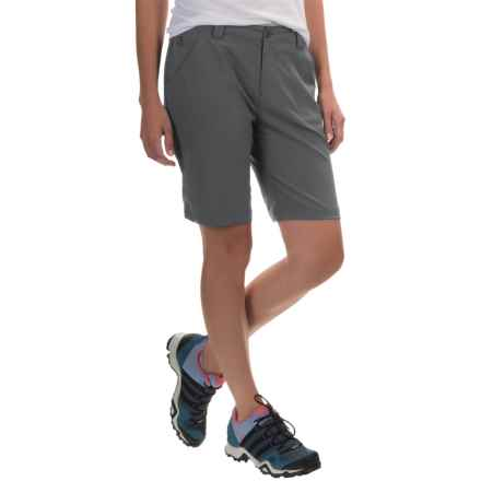 White Sierra West Loop Trail Shorts (For Women) in Asphalt - Closeouts