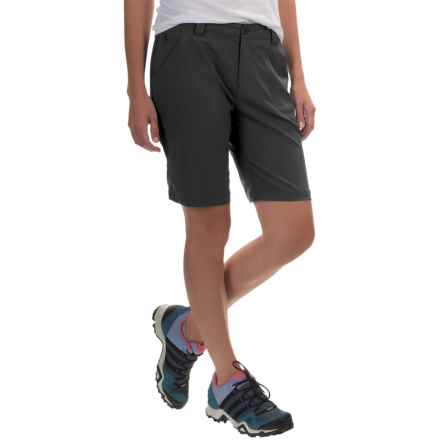 White Sierra West Loop Trail Shorts (For Women) in Black - Closeouts