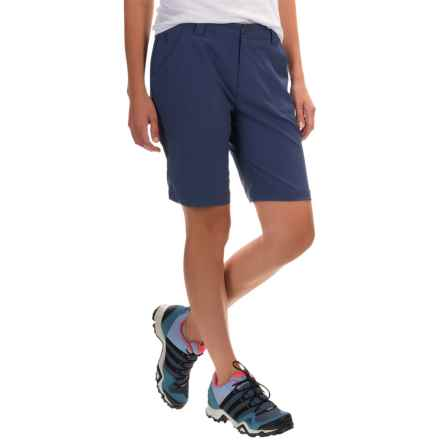 White Sierra West Loop Trail Shorts (For Women) in Evening Blue - Closeouts