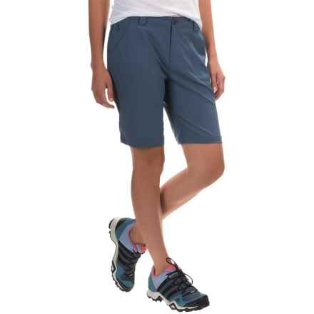 White Sierra West Loop Trail Shorts (For Women) in Vintage Indigo - Closeouts