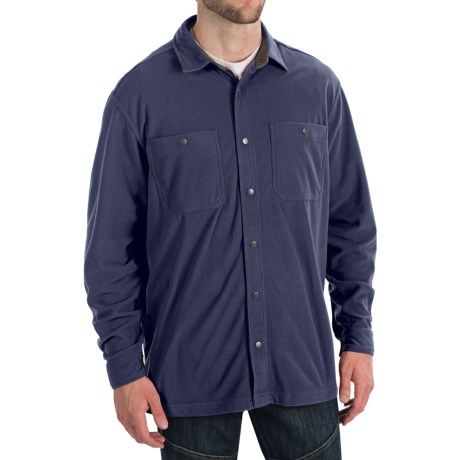 White Sierra Whitney Springs Overshirt - Long Sleeve (For Men) in Navy