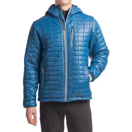 White Sierra Zephyr Jacket - Insulated (For Men) in Shield Blue - Closeouts