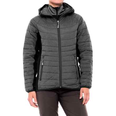 White Sierra Zephyr Jacket - Insulated (For Women) in Black - Closeouts