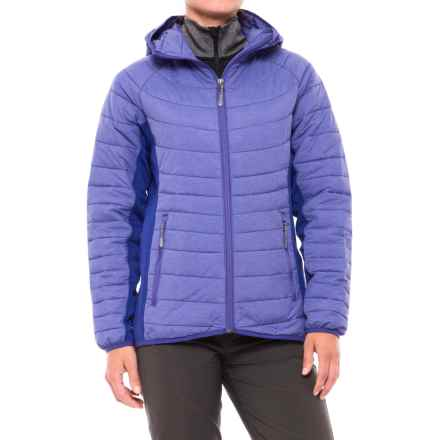 White Sierra Zephyr Jacket - Insulated (For Women) in Clematis Blue - Closeouts
