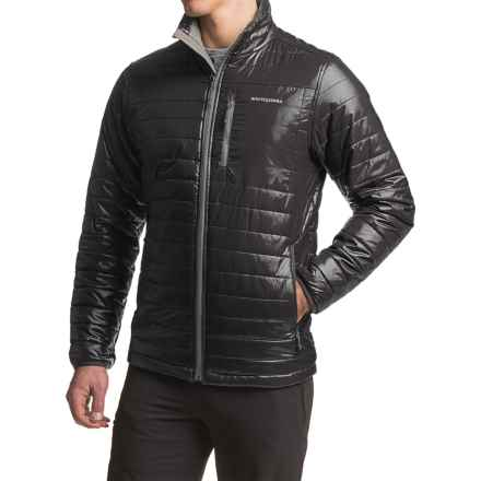 White Sierra Zephyr Quilted Jacket - Insulated (For Men) in Black - Closeouts