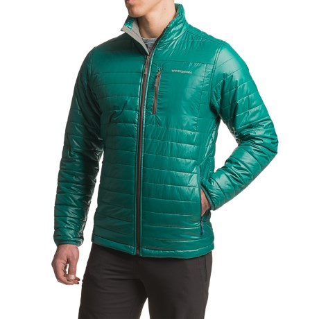 White Sierra Zephyr Quilted Jacket - Insulated (For Men)