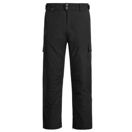 White Sierra Zephyr Snow Pants - Insulated (For Men) in Black - Closeouts