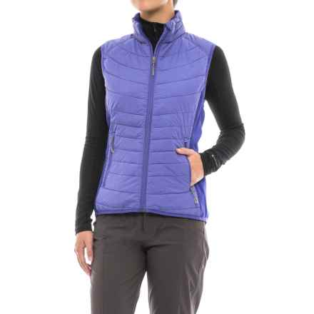 White Sierra Zephyr Vest - Insulated (For Women) in Clematis Blue - Closeouts