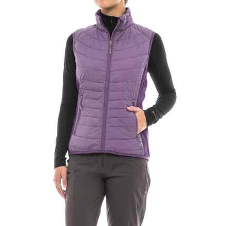 White Sierra Zephyr Vest - Insulated (For Women) in Nightshade - Closeouts