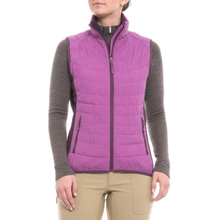 4c8c35eec1 White Sierra Zephyr Vest - Insulated (For Women) in Sparkling Grape -  Closeouts