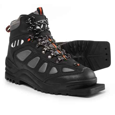 Whitewoods 301 Nordic Ski Boots - 75mm (For Men and Women) in Gray/Black/Orange - Closeouts