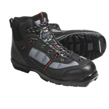 Whitewoods 306 Nordic Ski Boots - NNN BC (For Men and Women) in Black/ Grey - Closeouts