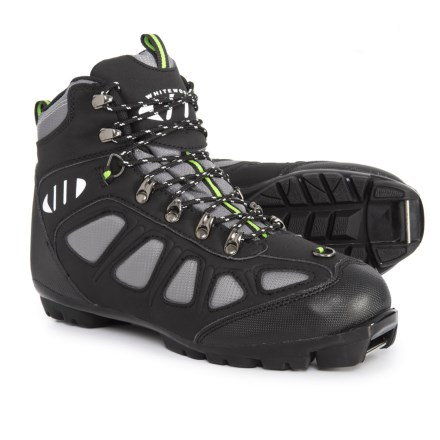 more photos 452b9 0f804 Whitewoods Nordic Ski Boots - NNN (For Men and Women) in Gray Black