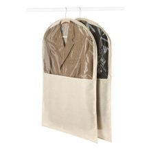 Whitmor Garment Bag - Set of 2 in French Vanilla - Closeouts