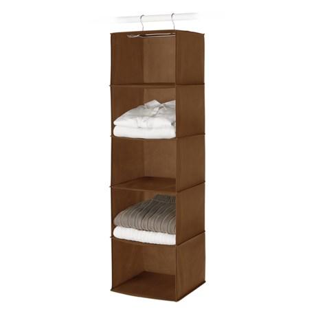 Whitmor Hanging Accessory Shelf in Chocolate