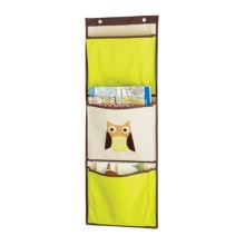 Whitmor Over-the-Door Pocket Organizer in Brown Owl - Closeouts