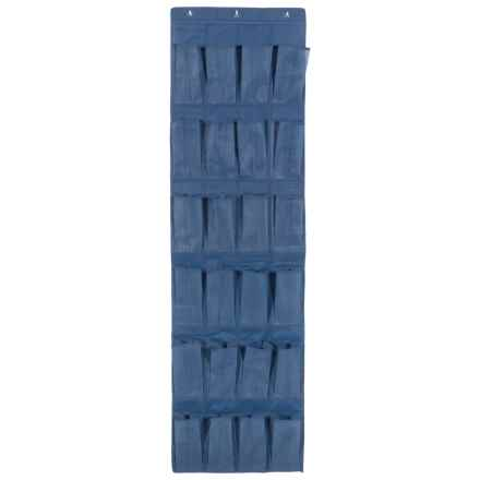 Whitmor Over the Door Shoe Organizer in Blue - Closeouts