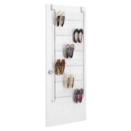 Whitmor Over-the-Door Shoe Rack - 18 Pair in See Photo - Closeouts