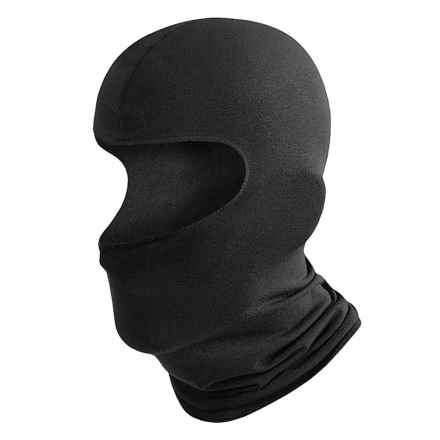Wickers Balaclava - Moisture-Wicking, Midweight (for Men and Women) in Black - 2nds
