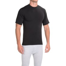 Wickers Celliant® T-Shirt - Short Sleeve (For Men and Women) in Black - Closeouts