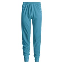 Wickers Comfortrel® Long Underwear Bottoms - Expedition Weight (For Tall Men) in Turquoise - 2nds