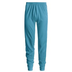 Wickers Comfortrel® Long Underwear Bottoms - Expedition Weight (For Tall Men) in Turquoise