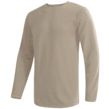 Wickers Comfortrel® Long Underwear Top - Expedition Weight, Long Sleeve (For Tall Men) in Tan - 2nds