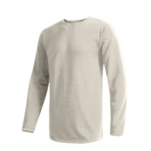 Wickers Comfortrel® Long Underwear Top - Expedition Weight, Long Sleeve (For Tall Men) in White - 2nds