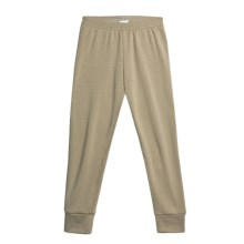 Wickers Expedition Weight Comfortrel® Bottoms - Base Layer (For Kids) in Taupe - 2nds