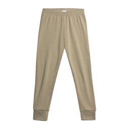 Wickers Expedition Weight Comfortrel® Bottoms - Base Layer (For Kids) in Taupe