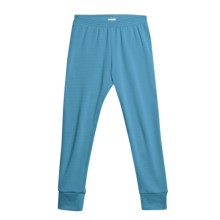 Wickers Expedition Weight Comfortrel® Bottoms - Base Layer (For Kids) in Turquoise - 2nds