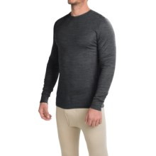 Wickers Fire-Retardant Base Layer Top - Long Sleeve (For Men) in Charcoal - Closeouts