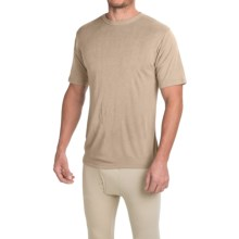 Wickers Fire-Retardant Base Layer Top - Short Sleeve (For Men) in Desert Sand - Closeouts