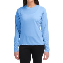 Wickers High-Performance T-Shirt - Long Sleeve (For Women) in Blue Lagoon - Closeouts