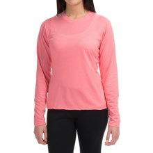 Wickers High-Performance T-Shirt - Long Sleeve (For Women) in Carnation - Closeouts