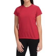 Wickers High-Performance T-Shirt - Short Sleeve (For Women) in Cherry - Closeouts