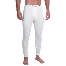 Wickers Lightweight Base Layer Bottoms (For Tall Men) in White - Closeouts