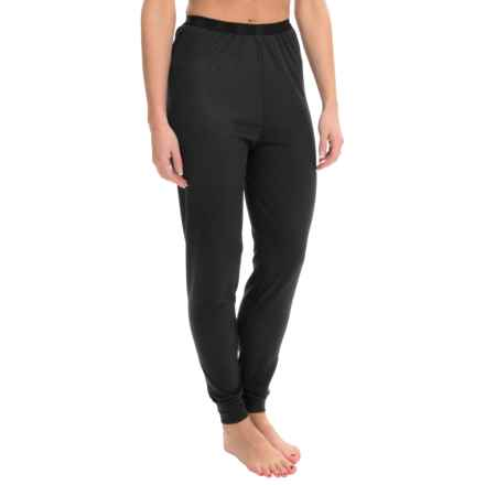 Wickers Lightweight Base Layer Bottoms (For Women) in Black - Closeouts