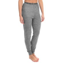Wickers Lightweight Base Layer Bottoms (For Women) in Grey Heather - Closeouts